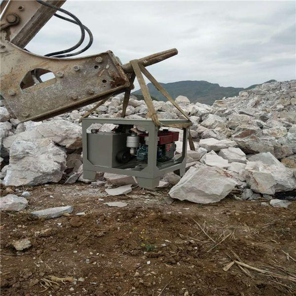 璧山县石头太硬破不动岩石手提式撑石机方案解说