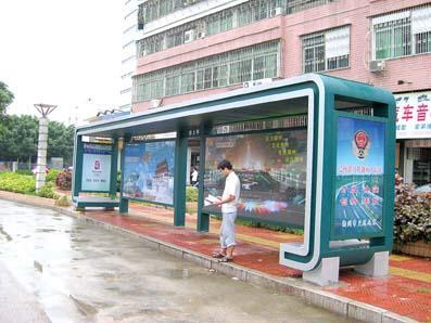 黑龙江单灯箱候车亭站台制作有影响力厂家