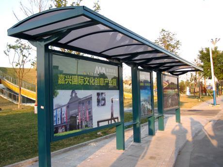 黑龙江智能电子候车亭站台新品研发