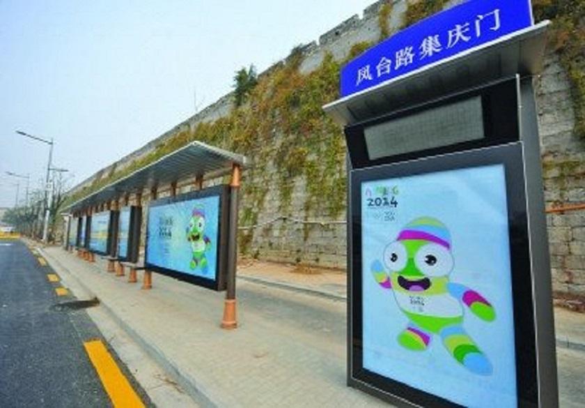 黑龙江中式候车亭公交站台定制企业