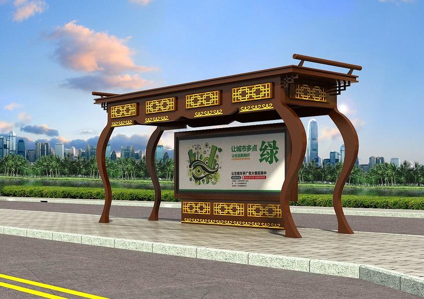 锦州公交站台阅报栏宣传栏厂家报价