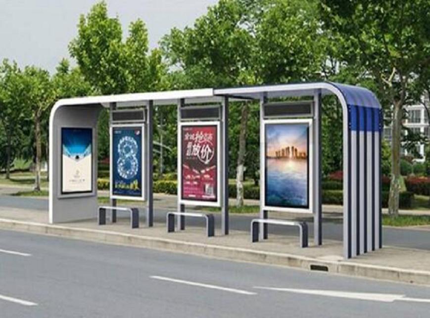 锦州公交候车亭不锈钢站台制作品质保证