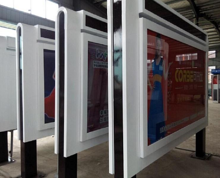 锦州双面滚动灯箱社区灯箱候车亭源头厂家