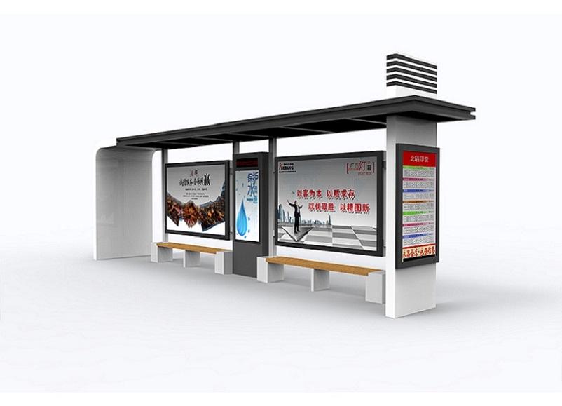 锦州港湾式公交站台单面公交站台生产品质过硬