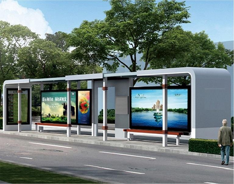 锦州少数民族风格候车亭单面公交站台信誉好的生产厂家