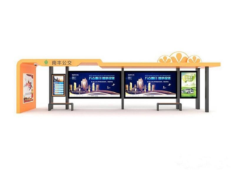 锦州滚动候车亭单面公交站台采购价格好