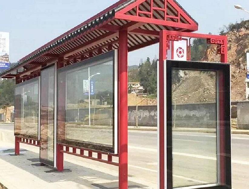海南一流公交候车亭公交智能站牌精选制作基地