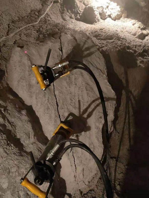 蚌埠基坑開挖用小型分裂機批量生產