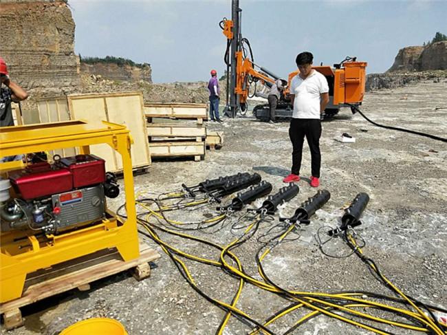 湖南钢筋混凝土破除用液压分裂机小型破石机股份有限公司