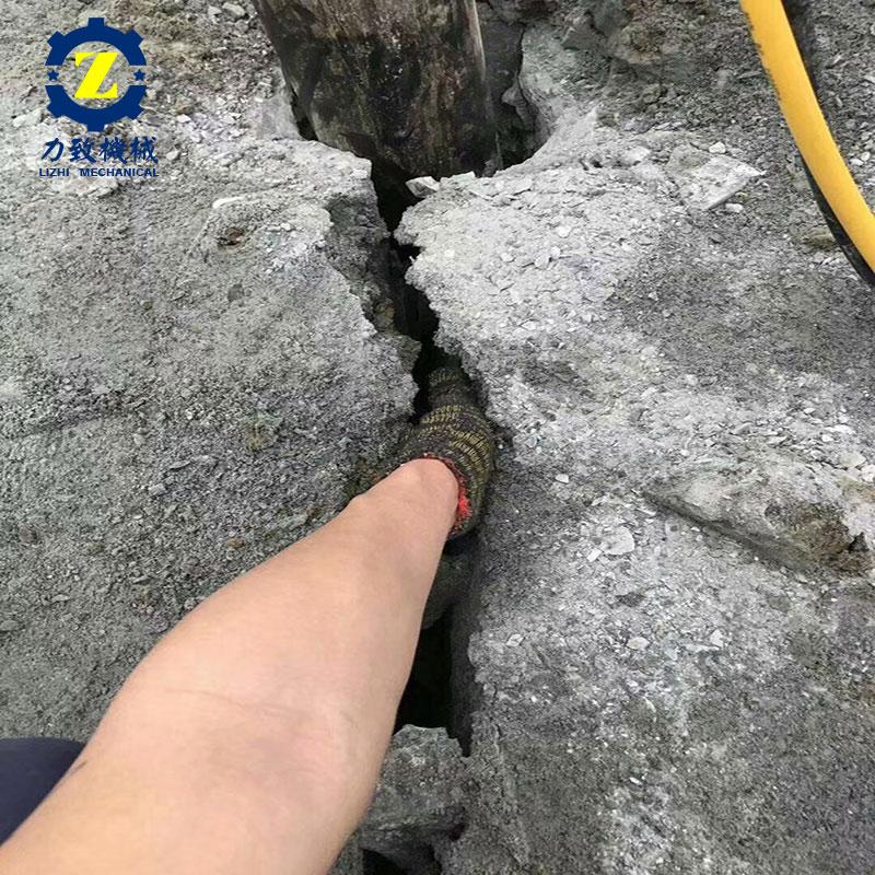 廊坊专门快速拆除坚硬的石头机械工作视频