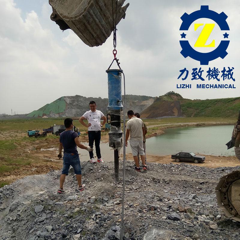 黑龙江风景区岩石拆除设备静态安全无噪音施工图片