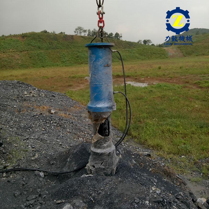 土方开挖遇到岩石处理设备代替放炮高效安全低成本厂家直销