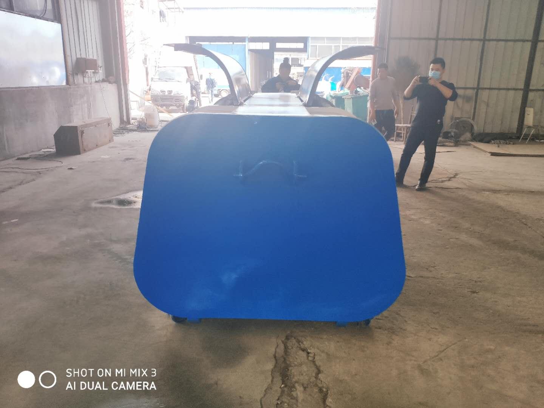 四川省内江市 3方勾臂垃圾箱    3立方垃圾箱    销售报价