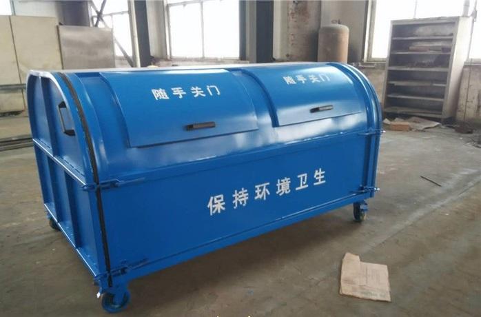 甘肃省天水市小型垃圾箱 勾臂垃圾箱厂家  工厂报价