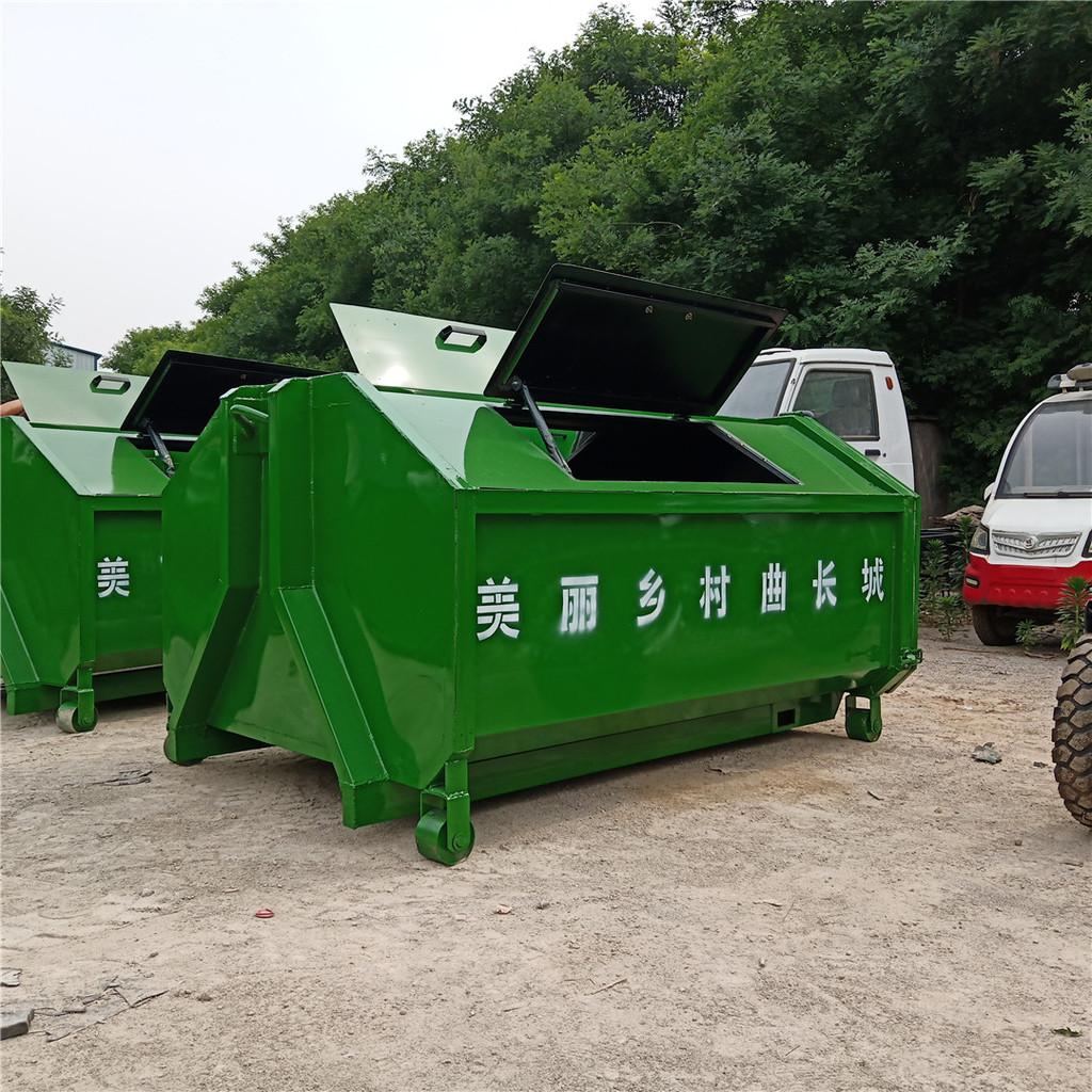 常州户外垃圾箱四方垃圾箱厂家定制