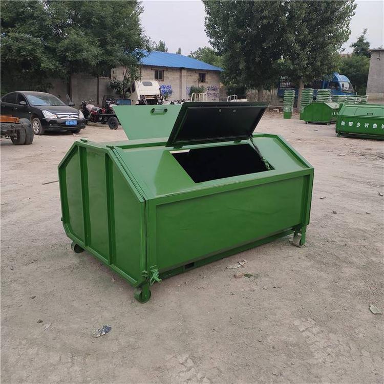 陕西省汉中市勾臂式垃圾箱  勾臂垃圾箱价格销售报价