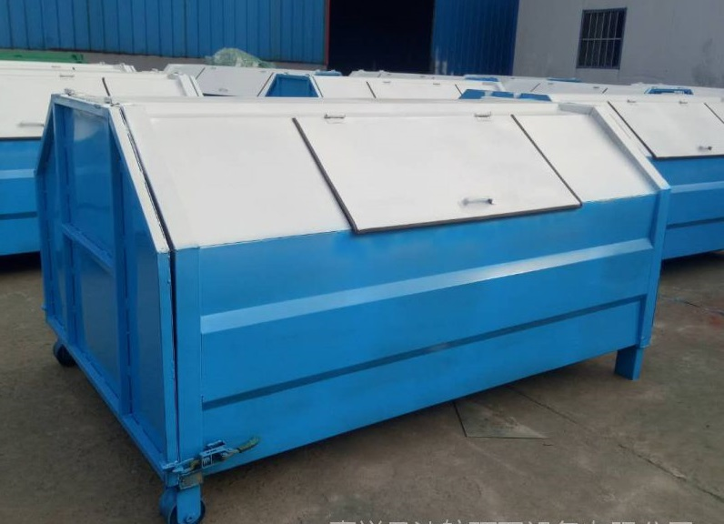 江苏省常州市弧形垃圾箱  环保垃圾箱    市场价格