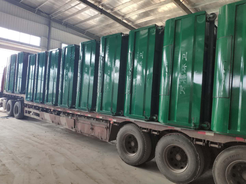 河南省平顶山市大型垃圾箱  勾臂垃圾箱厂家  厂家