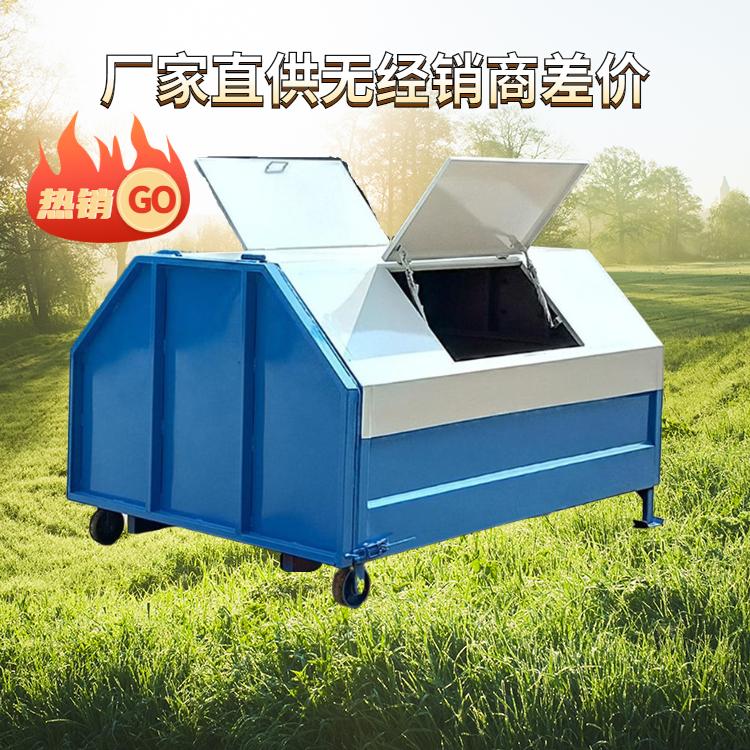 甘肃省天水市小型垃圾箱 不锈钢垃圾箱  工厂