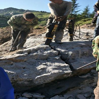 岳西除了破碎锤还有什么机器开采石头产量高什么价格