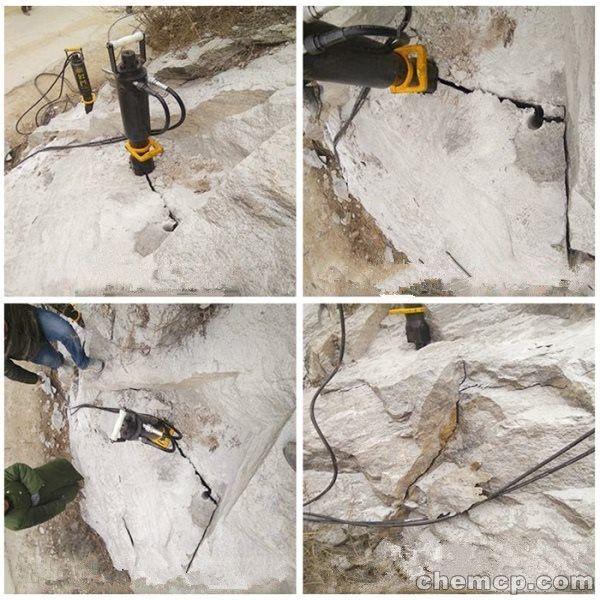 湖南除了破碎锤还有什么机器开采石头产量高什么价格