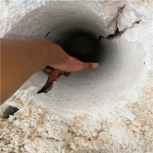 青阳工程遇到石头不能放炮破分石棒
