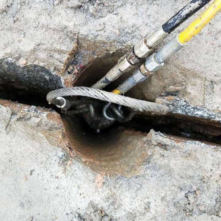 蚌埠靜態開采石頭機器液壓劈裂棒
