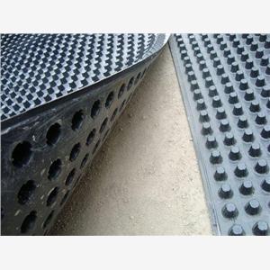 阿坝小金县凹凸排水板白色塑料排水板