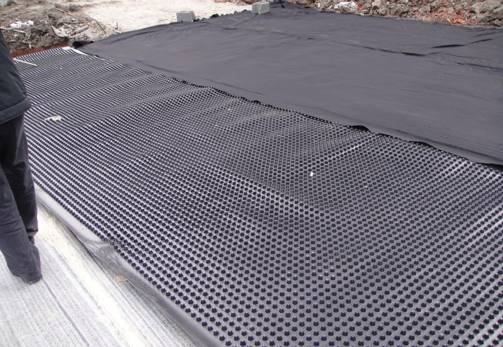 黔西南望谟塑料排水板屋顶花园排水板/蓄排水板