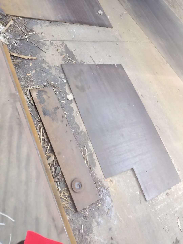 广西耐磨钢板NM450火焰切割