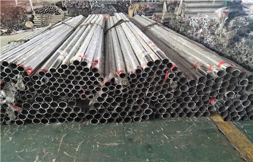 北京304不锈钢复合管栏杆工程案例