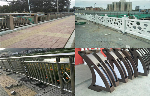 西宁1米高桥梁护栏钢板立柱现货