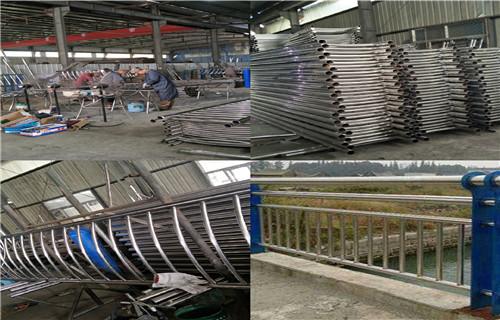 辽宁锦州热销不锈钢复合管护栏定制-安装