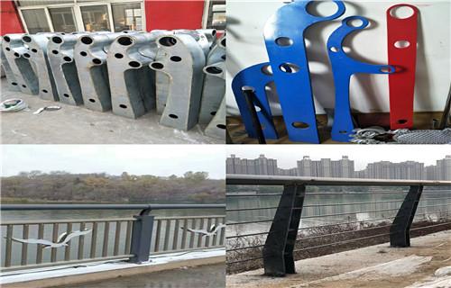 贵州黔西南不锈钢河道栏杆热销新款