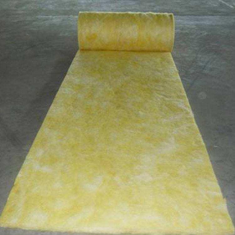 天水黄色玻璃棉卷毡每平米价格