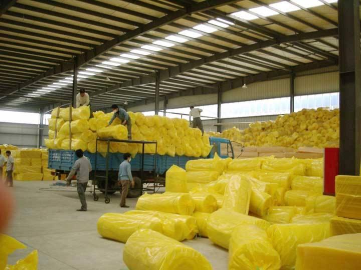 安康黄色玻璃棉卷毡现在报价