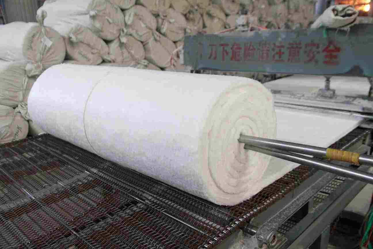 汉中80kg防火硅酸铝卷毡便宜价格