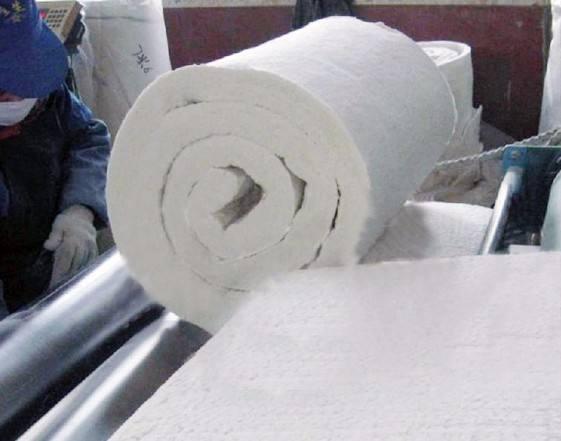 天水防火硅酸铝卷毡每平米价格