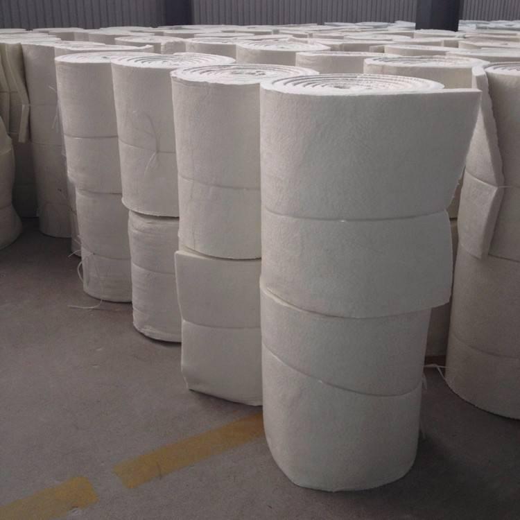 汉中50mm硅酸铝卷毡针刺毯一平米价格