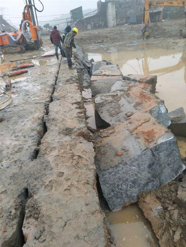 西宁市岩石二次解体洞采隧道挖掘岩石开采