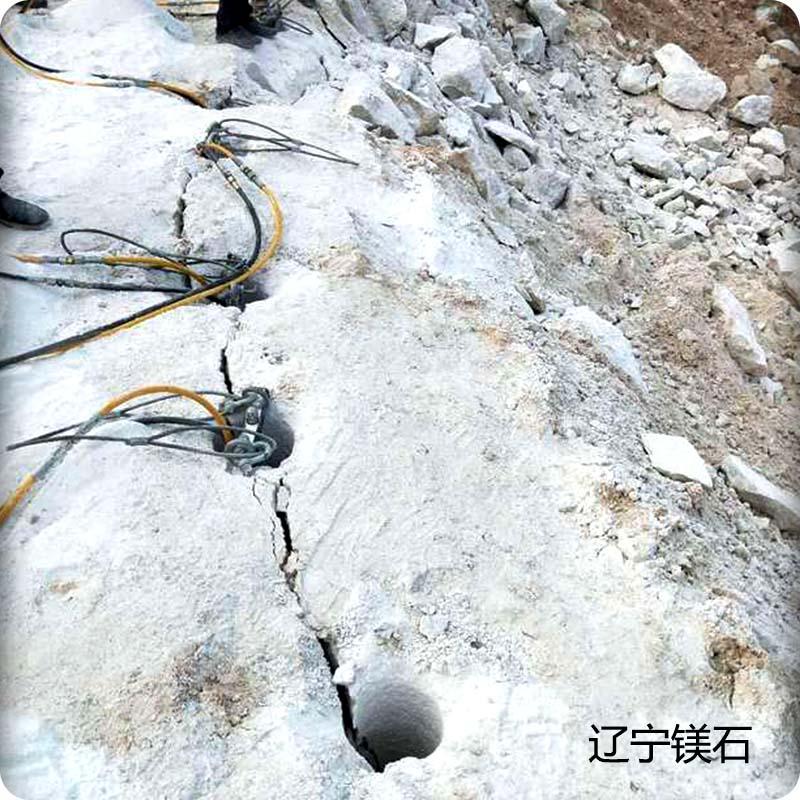 宁德柴油岩石分裂机怎么使用