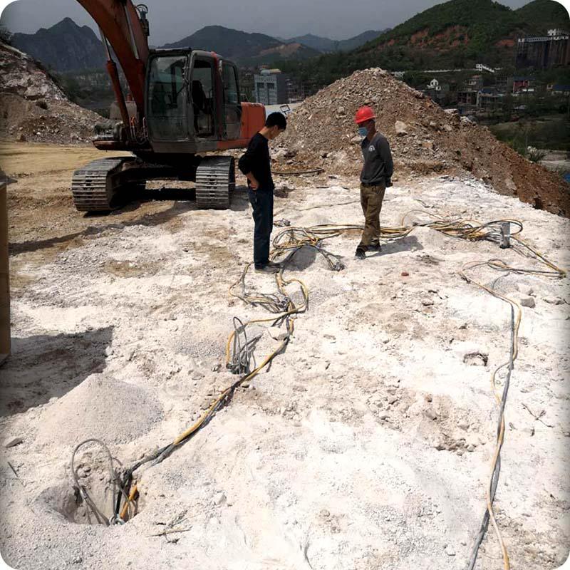 西宁建筑破拆液压分裂机拆除的施工原理