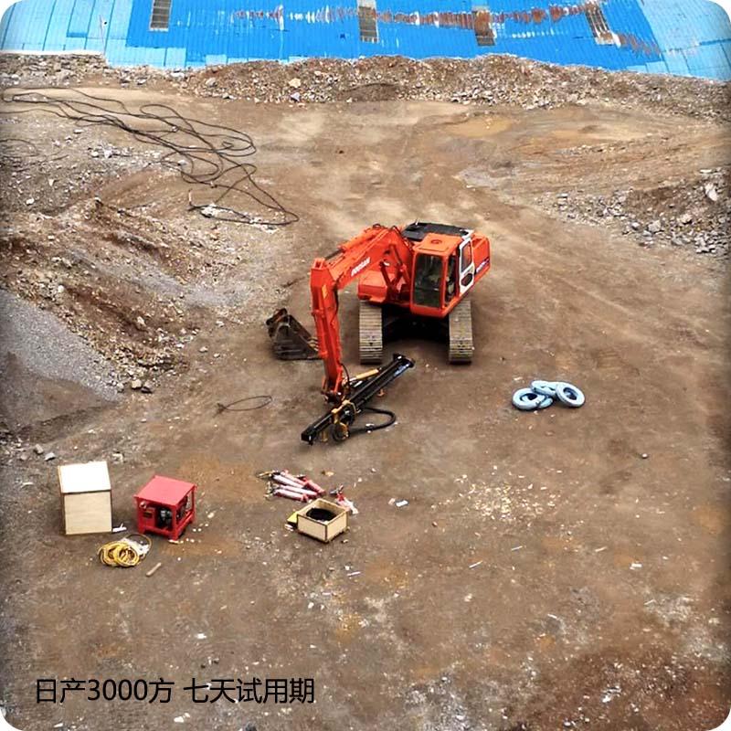 安庆岩石分裂机的功率多少