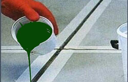 西藏硅酮胶地面聚氨酯液体嵌缝胶