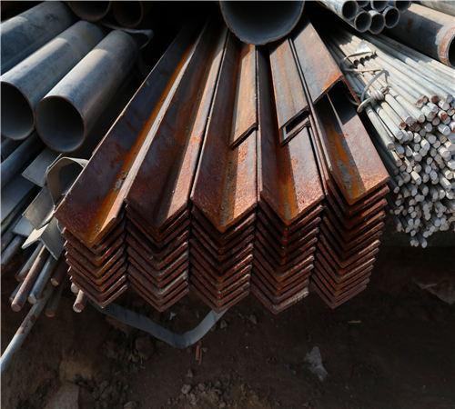 湖南现货供应Q235B镀锌角钢可加工零售厂家直销今日价格表
