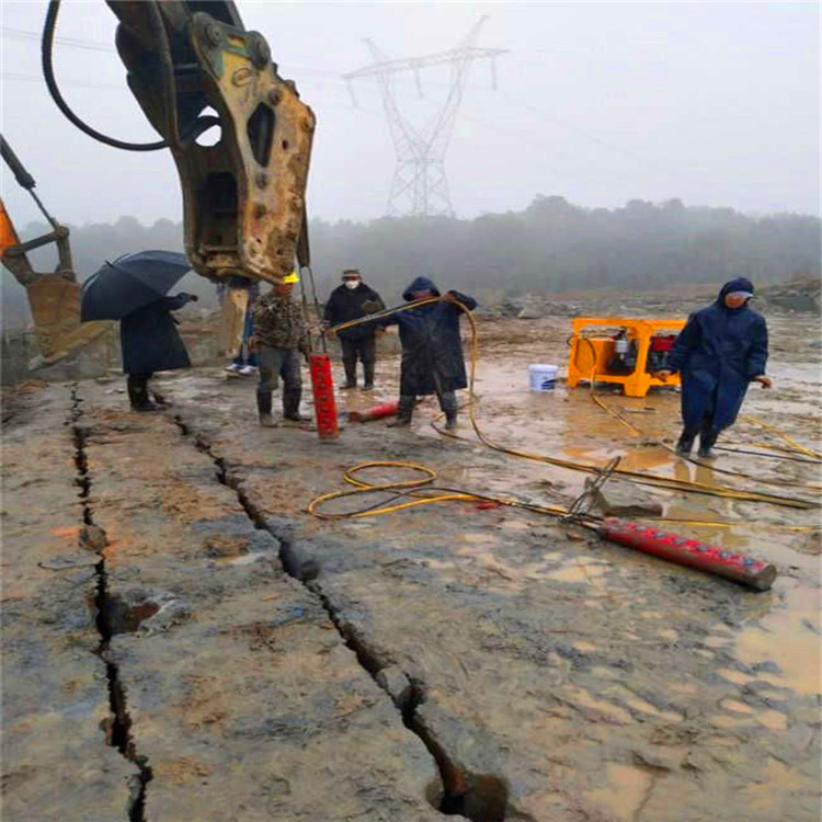 湖南鹤城开石器挖山不能爆破开采岩石厂家价格巷道开采