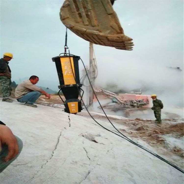 临沂沂水县石材场破硬石头不方法采石头机器市场报价