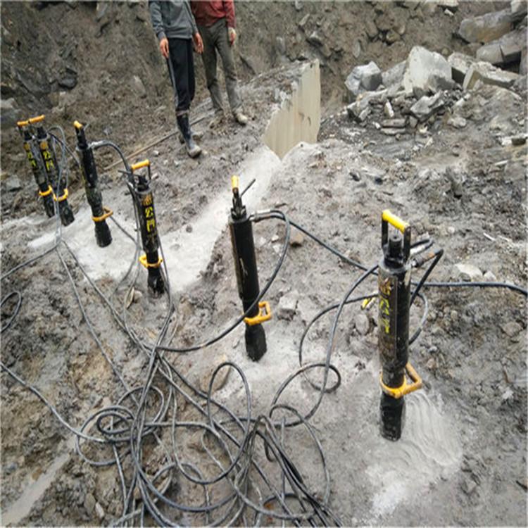 湖南新化矿洞采矿小型破石机器批发价格隧道掘进