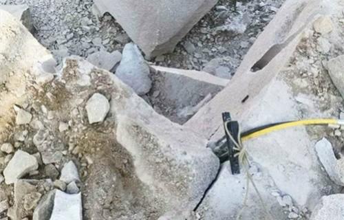 液压分裂棒值得信赖静爆岩石机械在江西