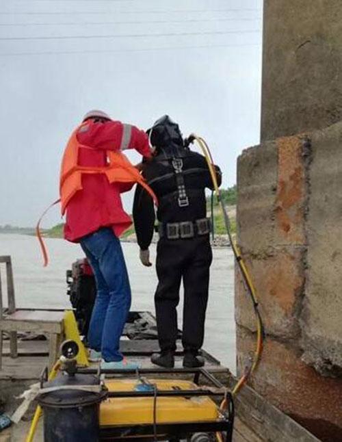 锦州蛙人拆除管道堵水墙《水下打捞》案例讲解